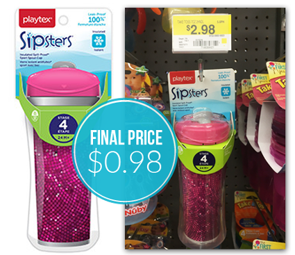 Playtex Sippy Cup 98¢ at Walm...