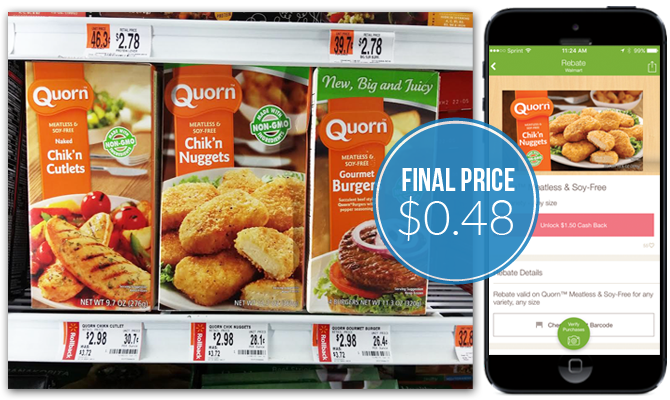 Quorn Meatless Products 48¢ a...
