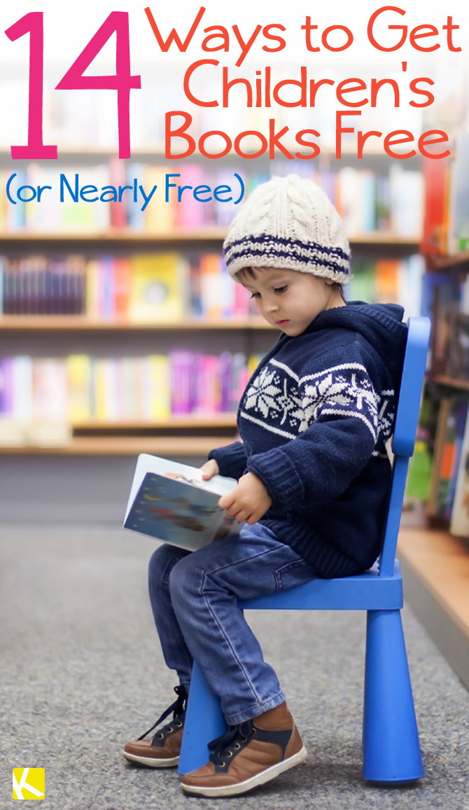 14 Ways to Get Free (and Really Cheap) Children's Books - The Krazy