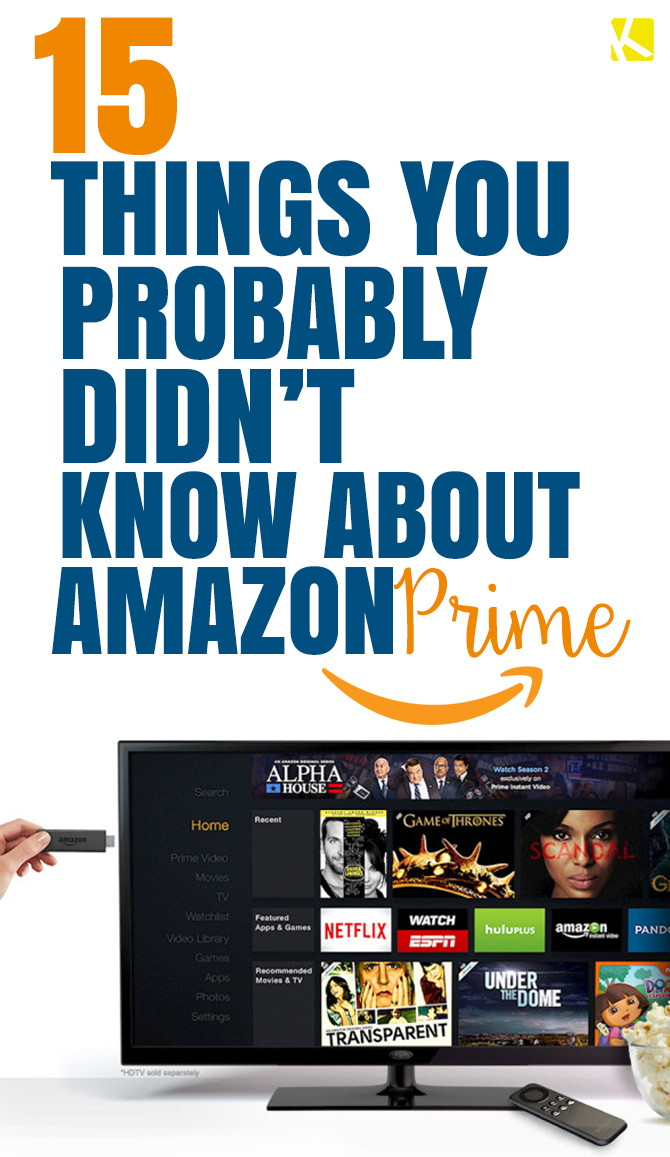 15 Little-Known Secrets About Amazon Prime - The Krazy