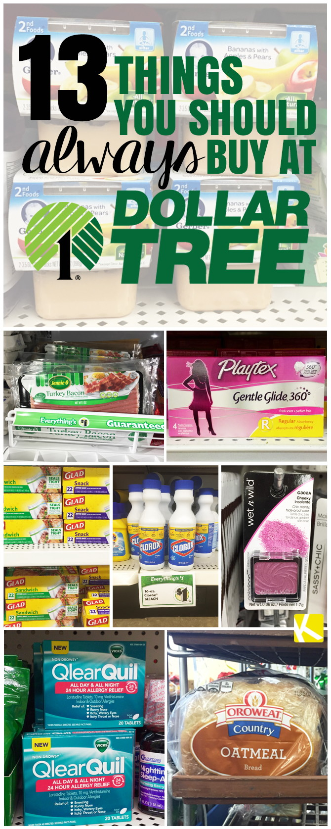13 Things You Should Always Buy at Dollar Tree - The Krazy