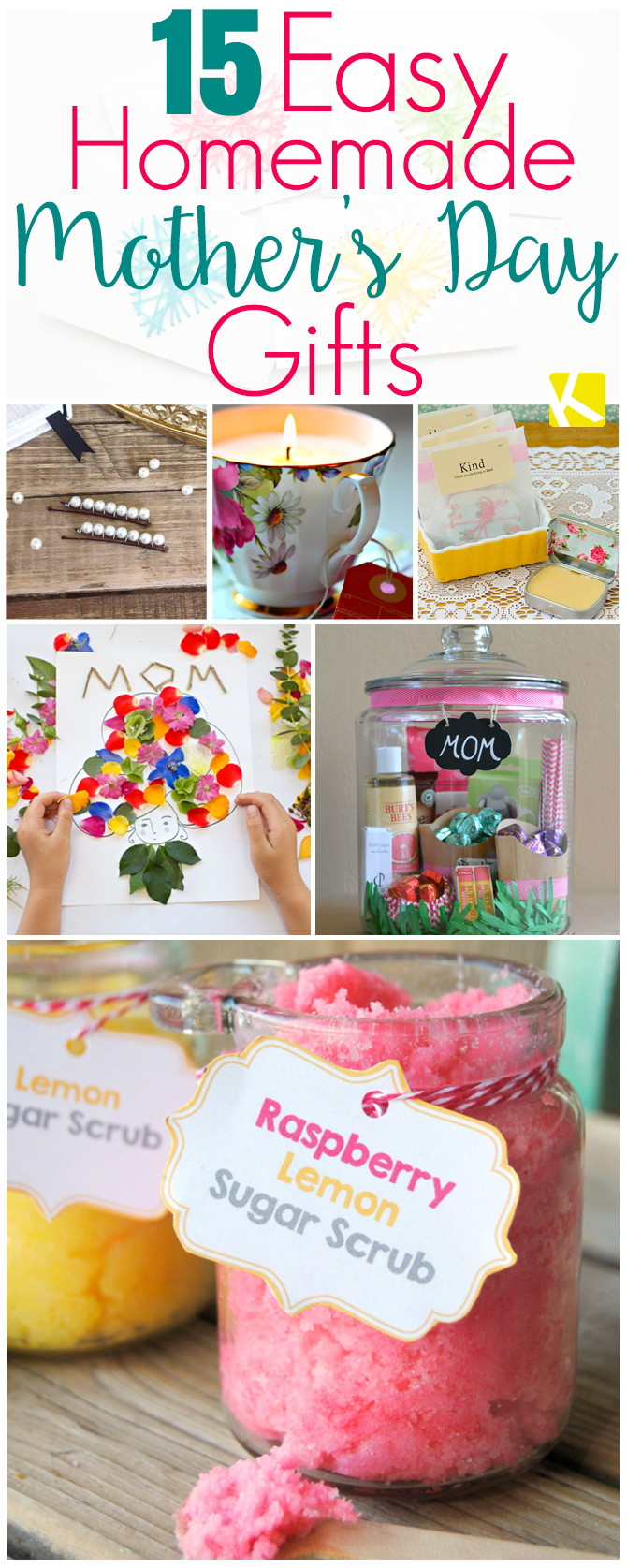 Mother S Day Gift Ideas Homemade Easy Craft