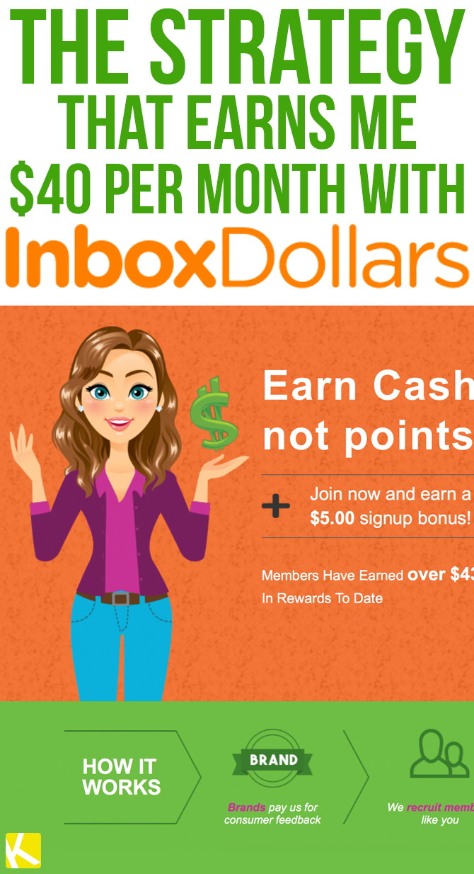The Strategy That Earns Me $40 per Month with InboxDollars