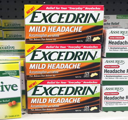 FREE Excedrin at Dollar Tree..
