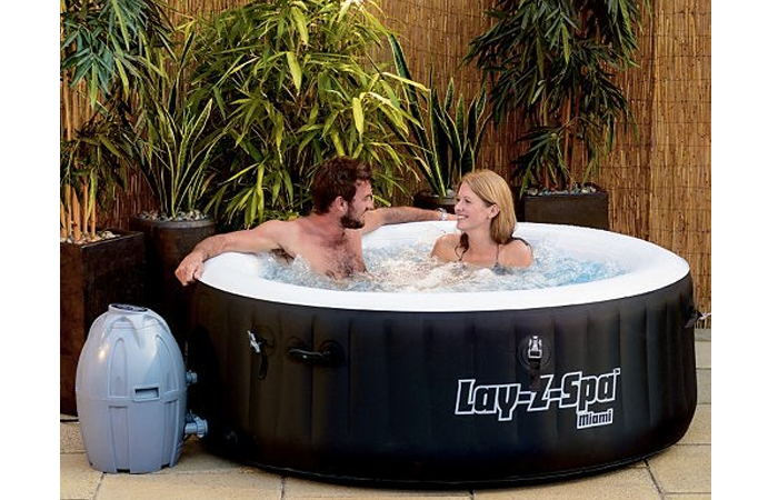 Lay z spa miami layzspa with lay z spa miami lay z spa for The range lazy spa