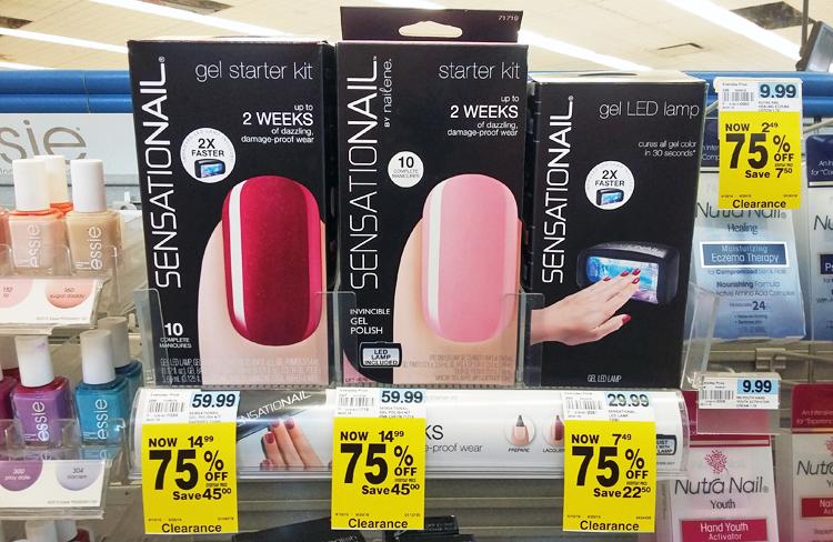 Sensationail nail starter kit coupon