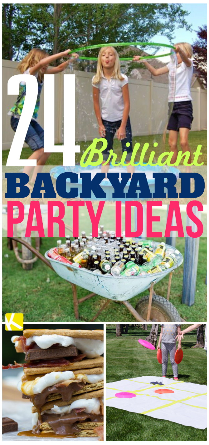 24 brilliant backyard party ideas the krazy coupon lady