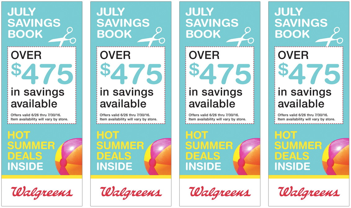 Walgreens July Savings Book - The Krazy Coupon Lady