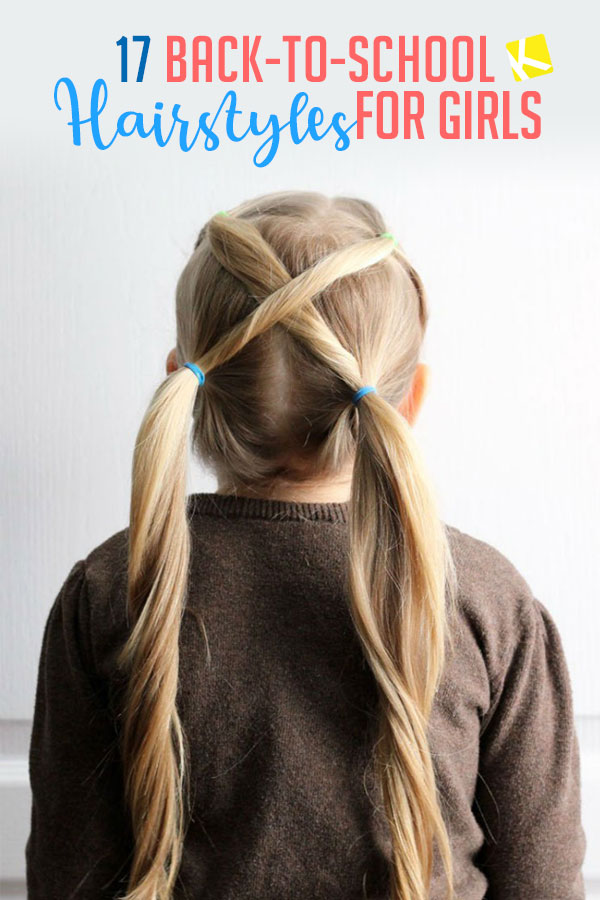 17 Fun Easy Back To School Hairstyles For Girls The