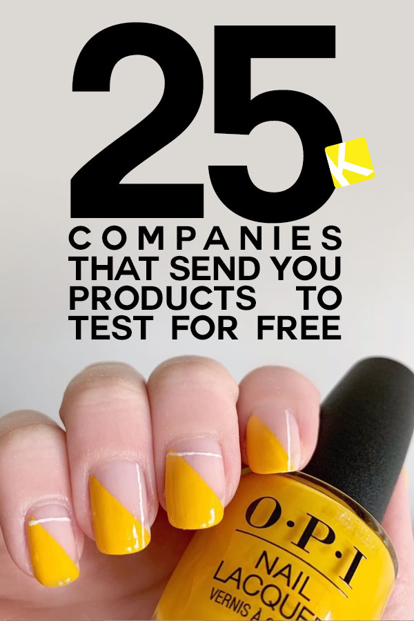 25 Companies That Send You Products to Test for Free - The