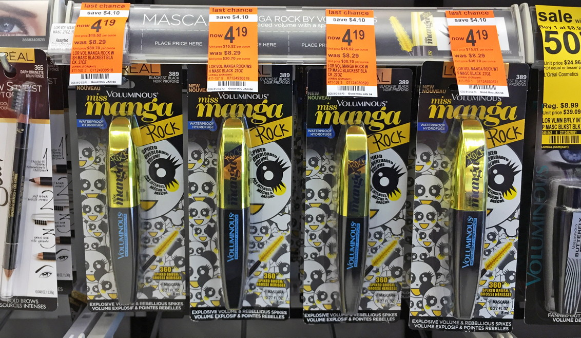 d6e6a03e8f0 L'Oreal Miss Manga Mascara, Only $1.14 at Walgreens! - The Krazy Coupon Lady