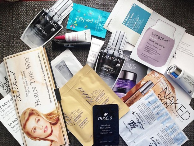 how to get free samples from sephora