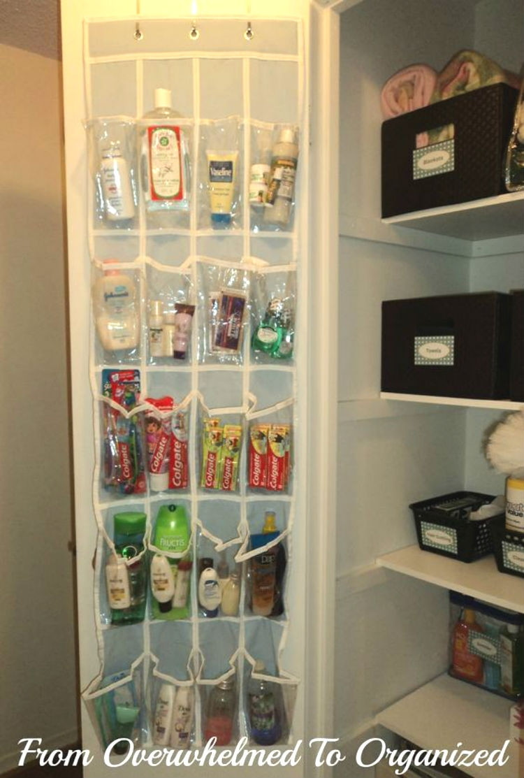 16 Incredible Hacks To Organize Your Linen Closet The