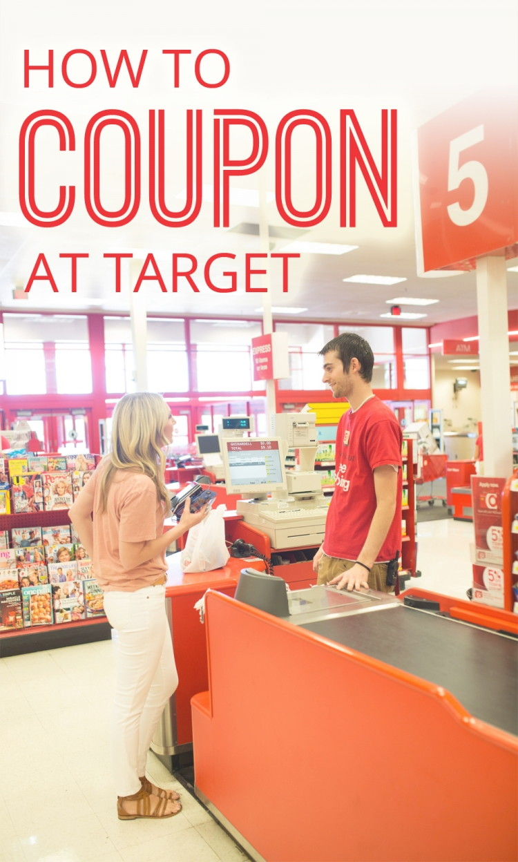 how to coupon at target