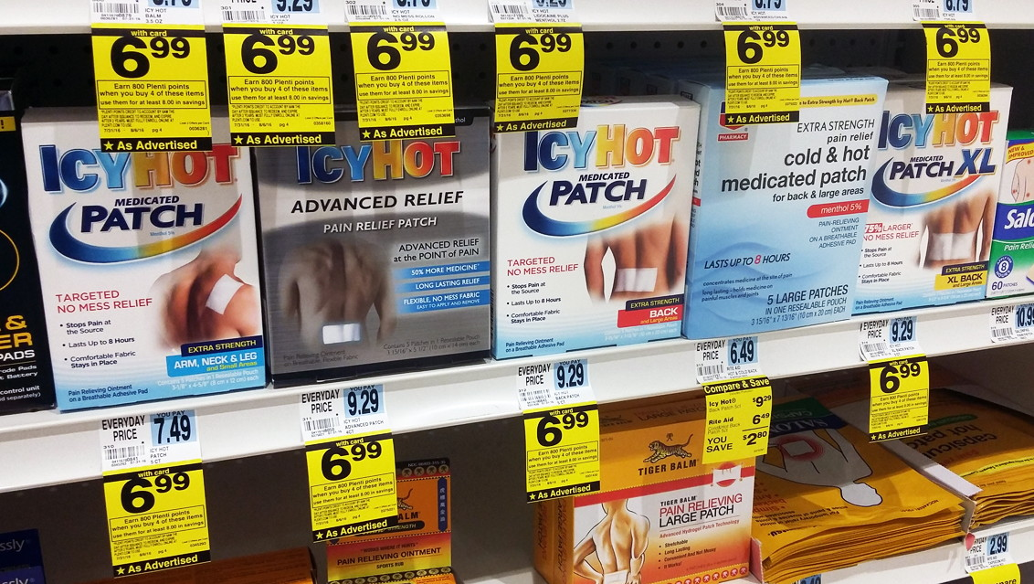 picture relating to Icy Hot Coupons Printable known as Icy Scorching Product or Patches, Basically $2.99 at Ceremony Assist! - The