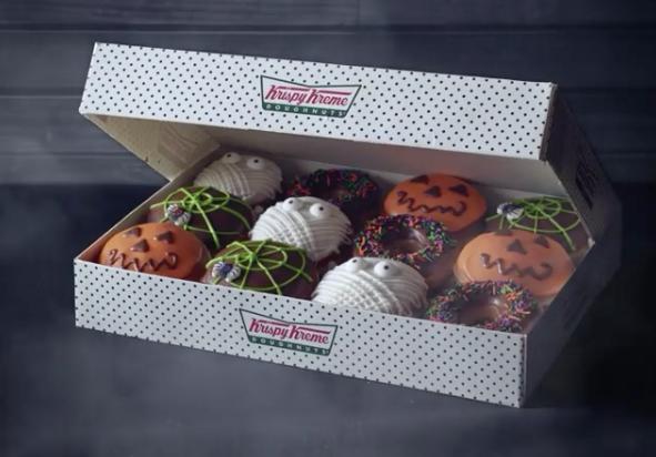 krispy kreme gives you one free donut when you dress up