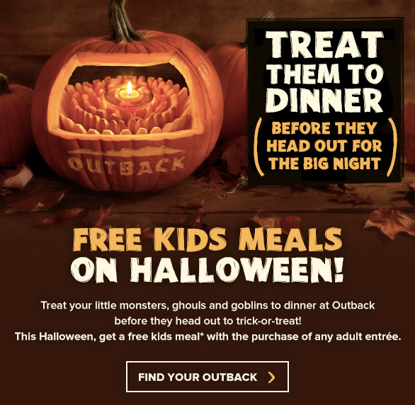 15 places to get free food on halloween the krazy coupon lady