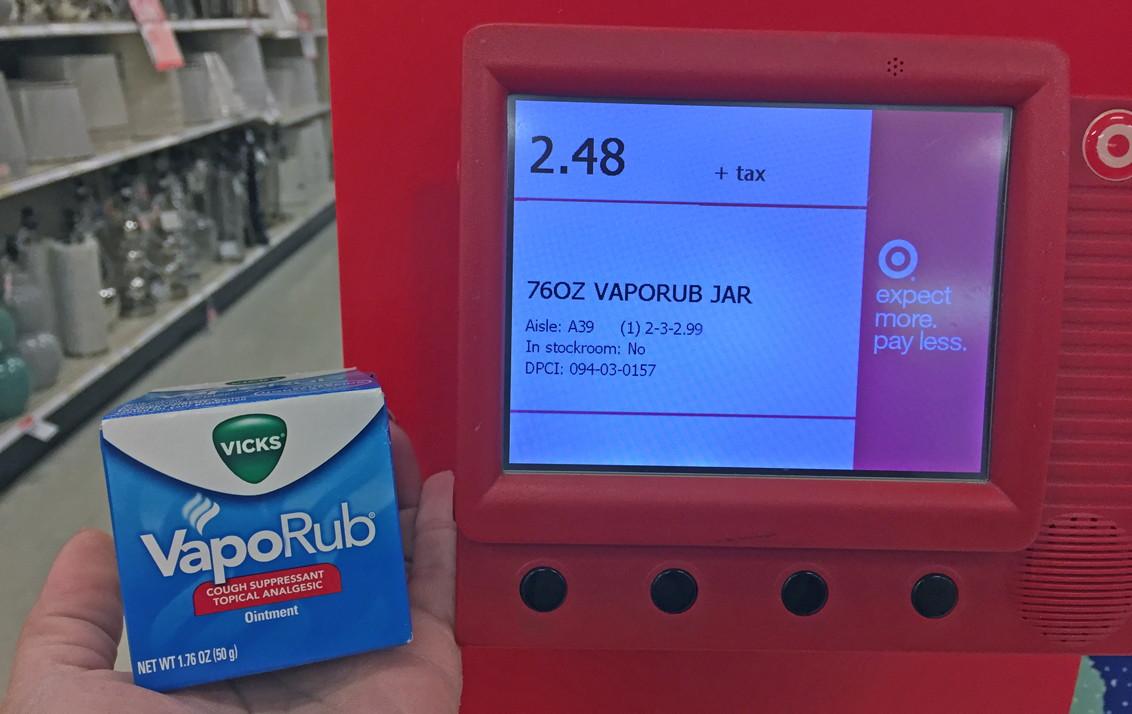 Vicks VapoRub, Only $0 48 at Target! - The Krazy Coupon Lady