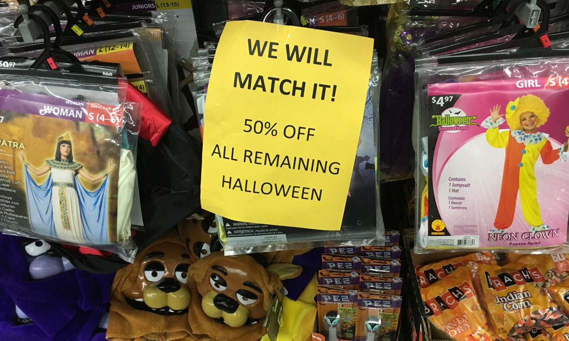 50 Off Halloween Clearance At Walmart Items As Low As 0 49 The