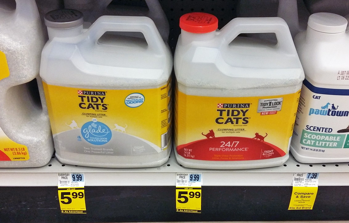 Tidy Cat Litter Coupons