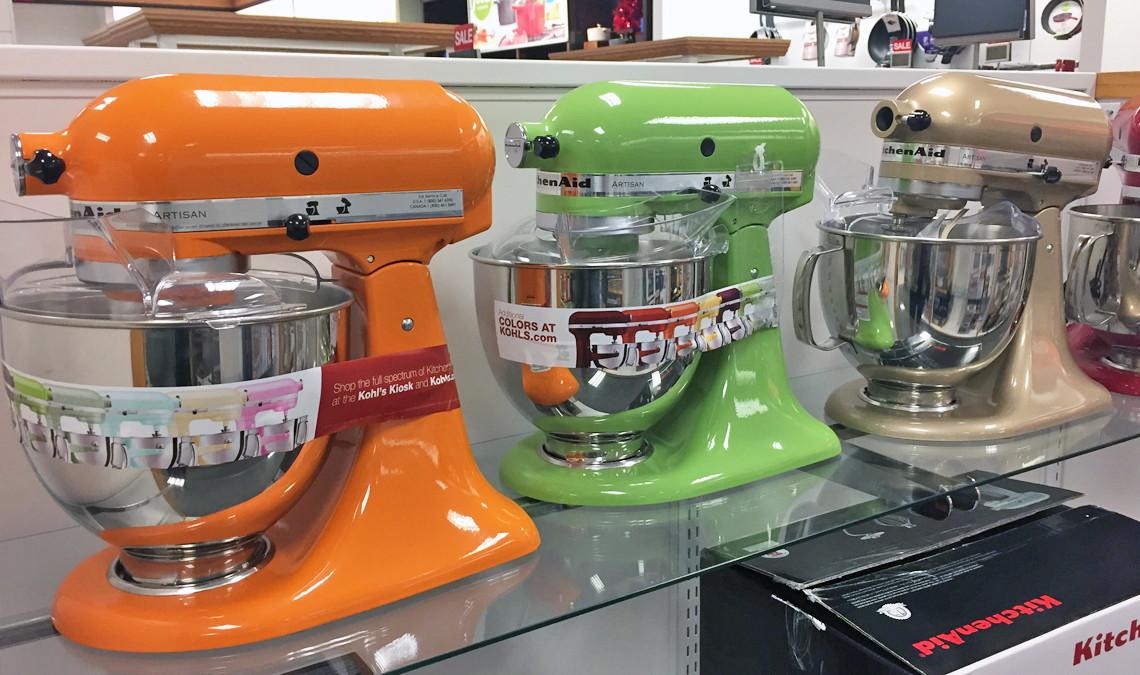 Kitchenaid Colors 2016 kitchenaid artisan stand mixer + magic bullet blending system