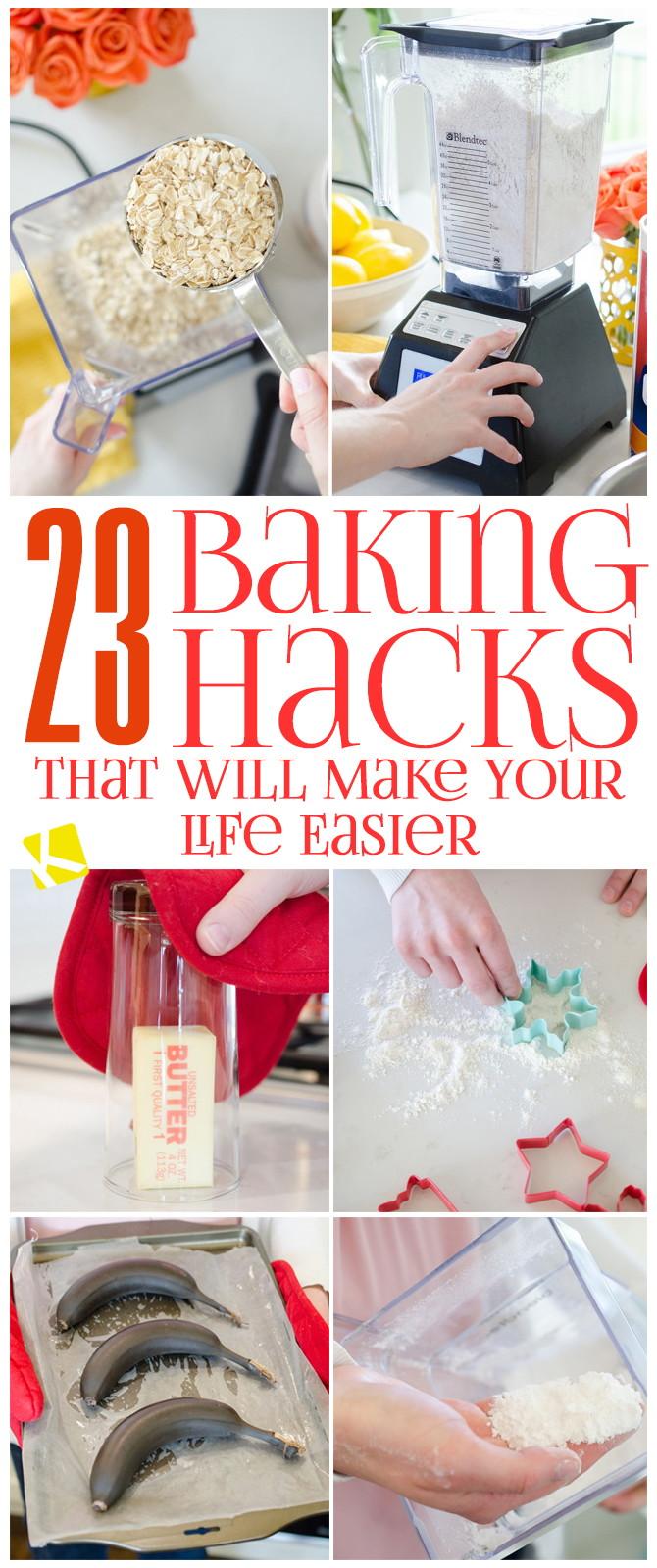 23 Genius Baking Hacks That Will Make Your Life Easier