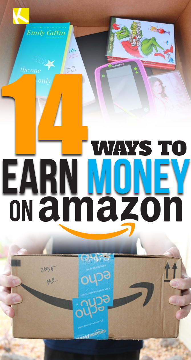 14 Ways to Earn Money on Amazon - The Krazy Coupon Lady