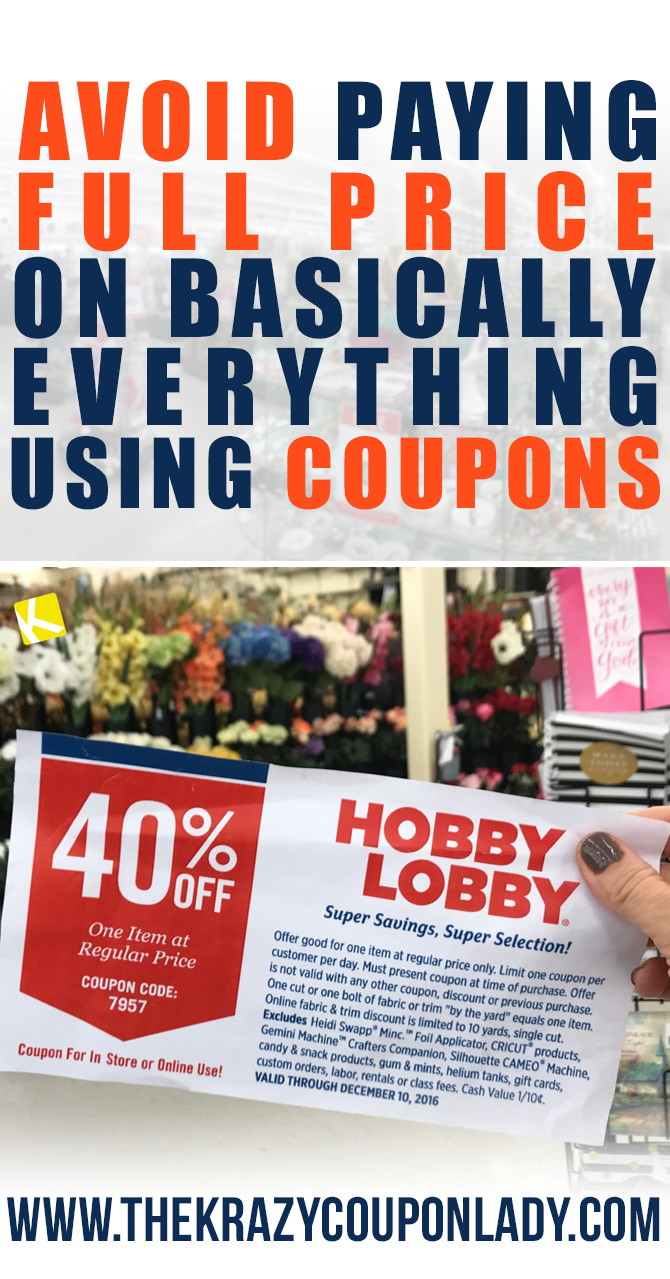4ea7b40e067e 26 Hobby Lobby Hacks That ll Save You Hundreds - The Krazy Coupon Lady