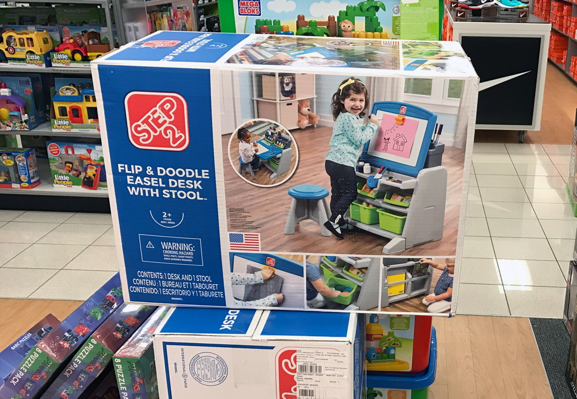 Swell Step2 Flip Doodle Easel Desk Stool Only 33 99 5 00 Caraccident5 Cool Chair Designs And Ideas Caraccident5Info