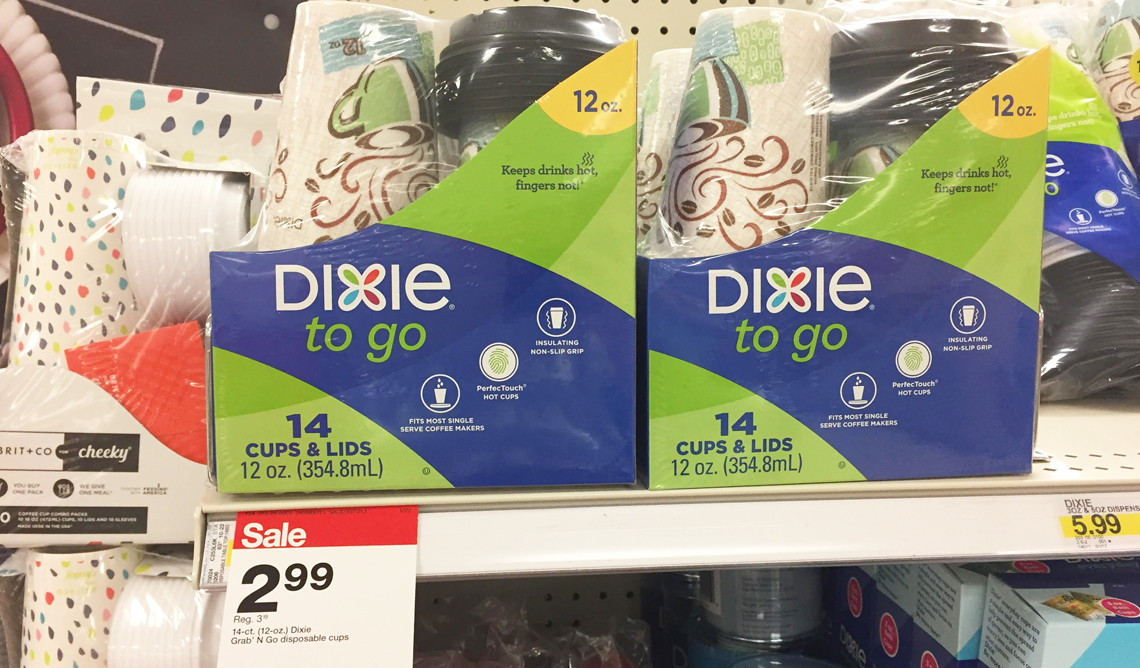 Dixie To Go Cups, Only $1 24 at Target (Reg  $3 19)! - The