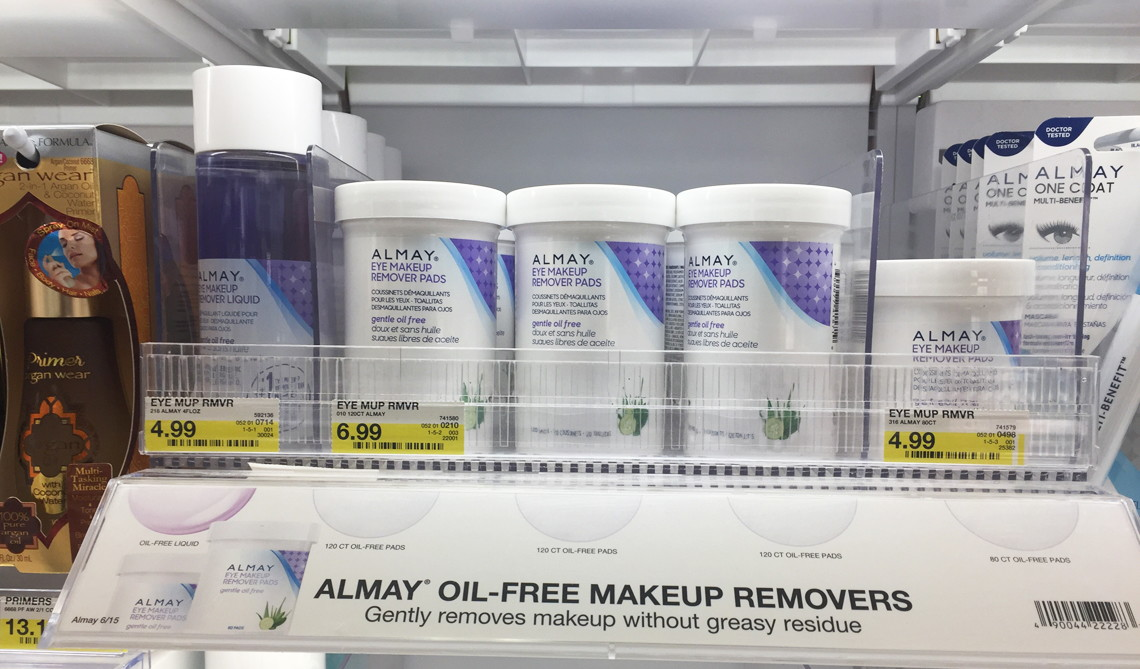 HOT! Almay Makeup Remover & Cosmetics, Only $0.49 at Target!