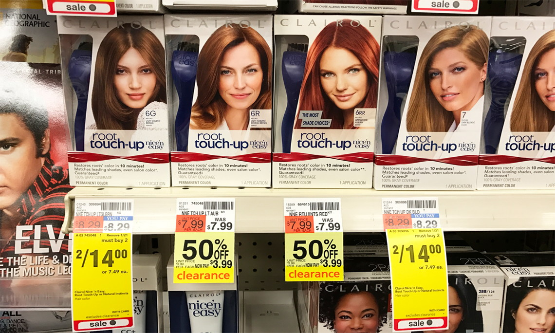 Cvs Clearance Find Clairol Root Touch Up Hair Color Only 149