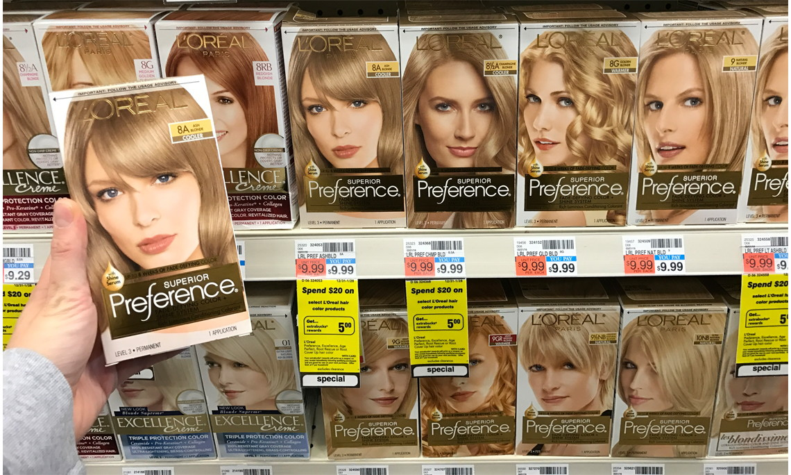 Cvs Monthly Deal 600 Off Loreal Preference Hair Color