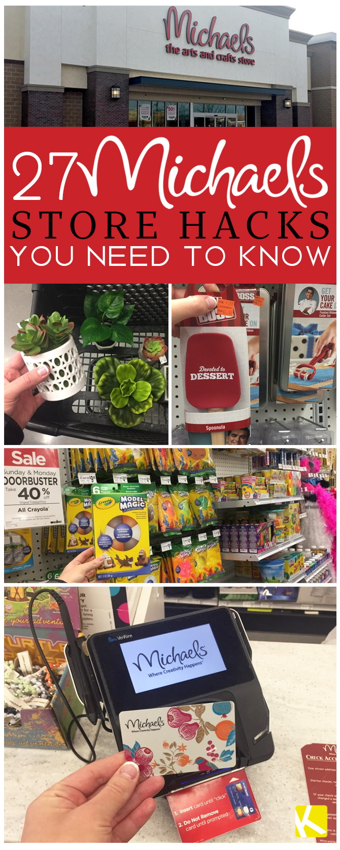27 Michaels Store Hacks You Need to Know - The Krazy Coupon Lady