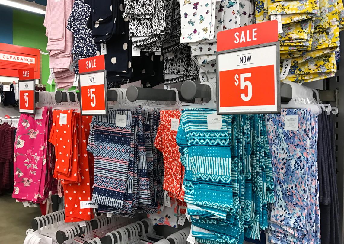 OldNavy.com: $5 Leggings for Women & Girls - Today Only! - The Krazy ...