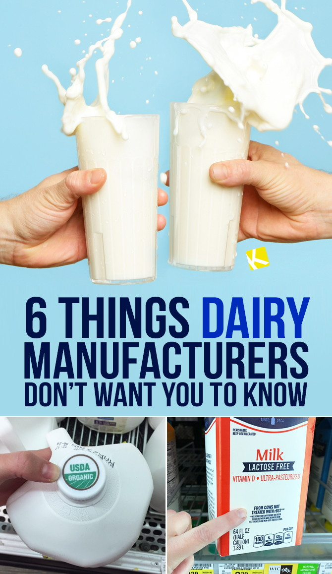 6 Things Dairy Manufacturers Don't Want You to Know - The
