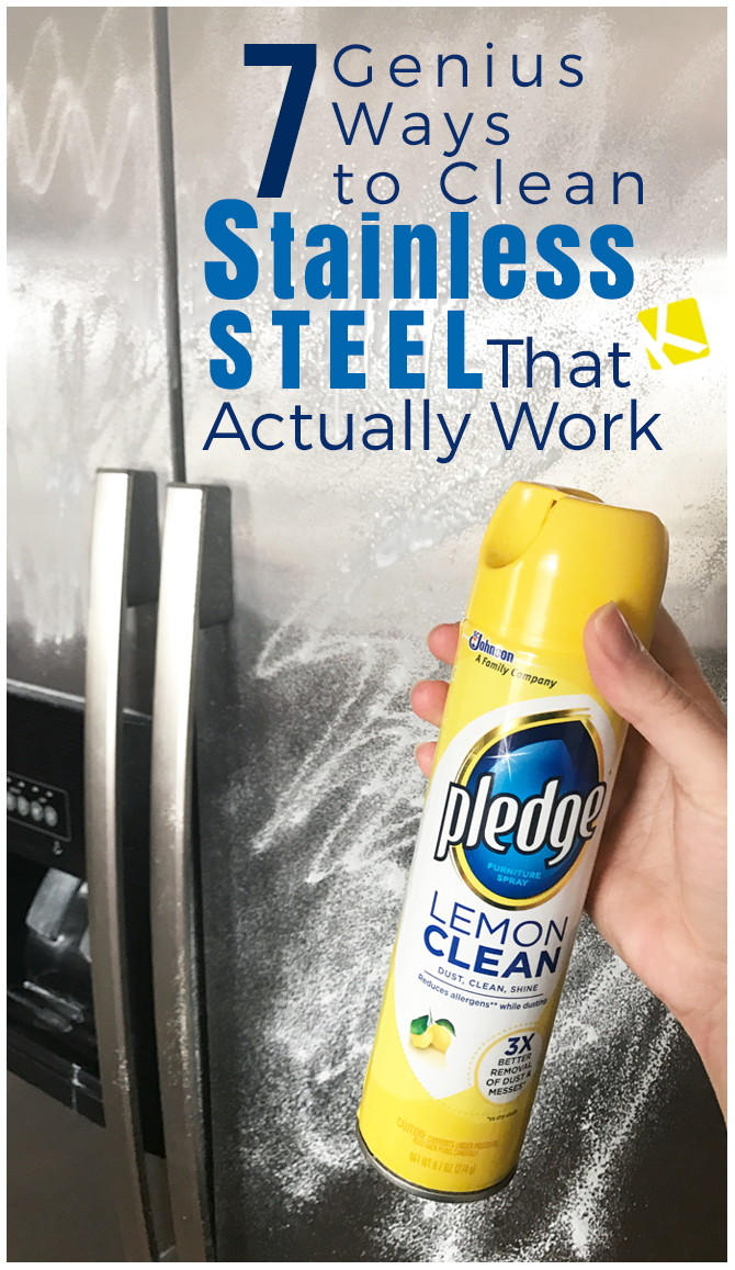 7 Ways To Clean Stainless Steel You Ve Never Heard Before