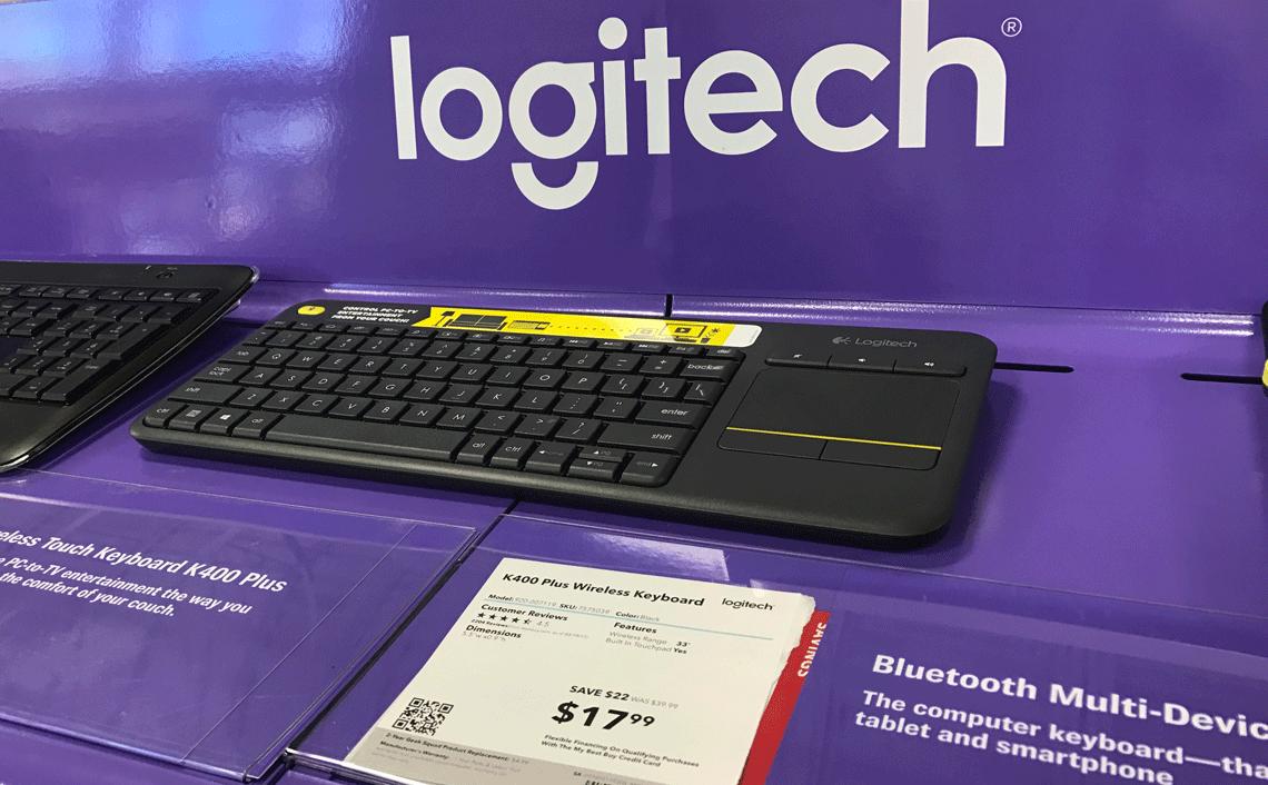 Today Only: Logitech K400 Plus Wireless Keyboard, $17 99 at