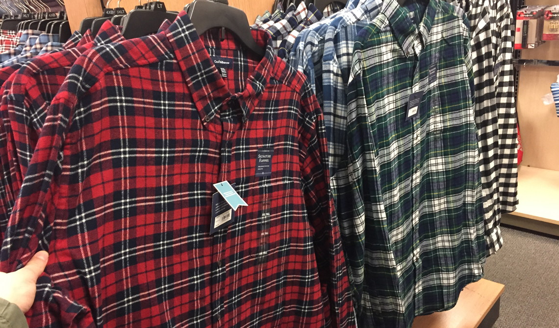 f86bd9c29f Kohl s Clearance   5.76 Men s Flannel Shirts