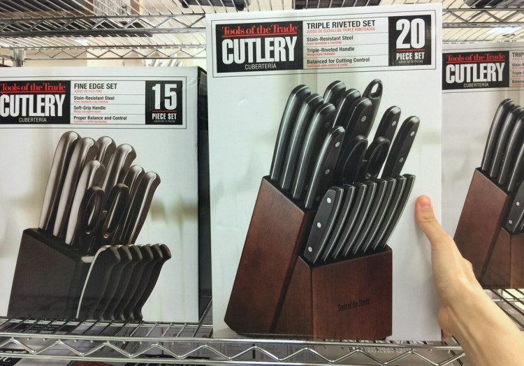 Tools Of The Trade 15 Piece Cutlery Set Only 23 99 At