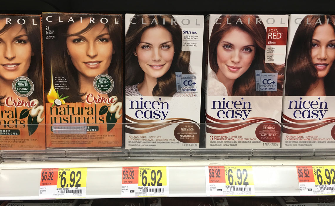 500 Clairol Coupon Hair Color Only 442 At Walmart The Krazy