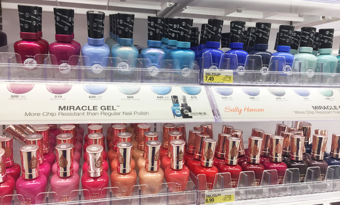 Sally Hansen Miracle Gel, Only $3.33 at Target! - The Krazy Coupon Lady