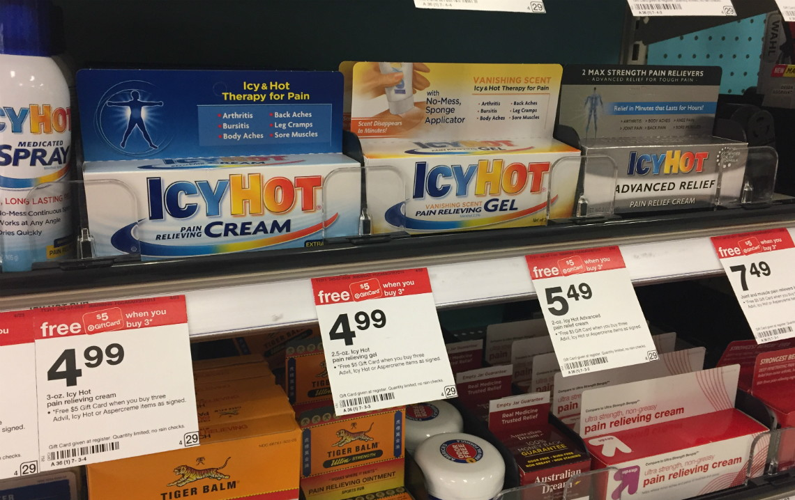 graphic relating to Icy Hot Coupons Printable identified as Icy Warm Ache Aid Product, Merely $2.32 at Emphasis! - The Krazy