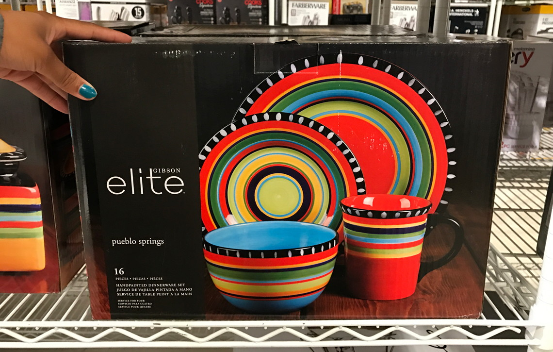 Gibson Elite Pueblo Springs Dinnerware Sets $30.99 at JCPenney--Reg. $100.00! - The Krazy Coupon Lady & Gibson Elite Pueblo Springs Dinnerware Sets $30.99 at JCPenney--Reg ...