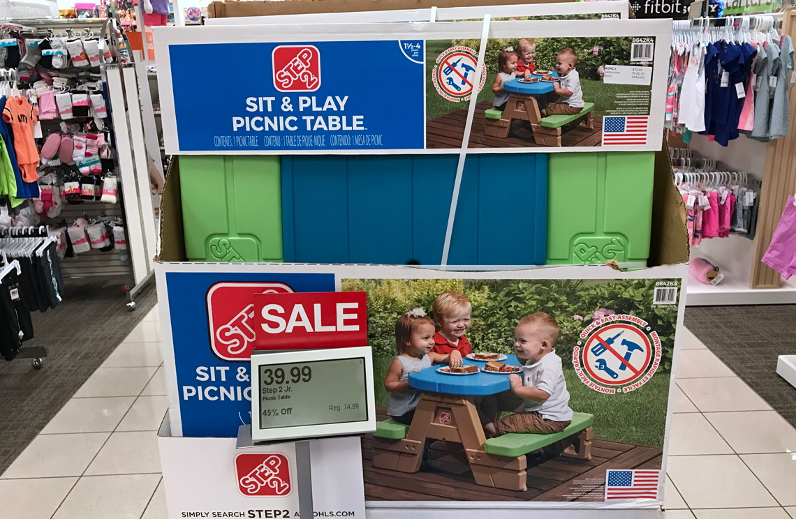 Step2 sit play jr picnic table only 3399 at kohls reg step2 sit play jr picnic table only 3399 at kohls reg 7499 the krazy coupon lady watchthetrailerfo