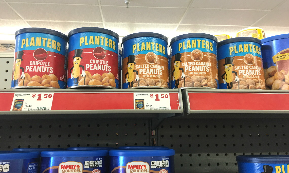 Planters Flavored Peanuts, Only $0.88 at Family Dollar! - The Krazy on planters brittle nut medley, planters logo, planters crackers, planters potato chips, planters cashews, planters nutmobile, planters honey roasted, planters walnuts, planters peanutbutter, planters sunflower seeds, planters sunflower kernels, planters nut bar, planters almonds, planters mixed nuts, planters holiday collection, planters holiday pack, planters candy, planters pecans, planters nut man, planters guy,