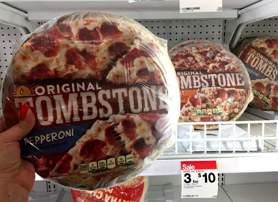 Tombstone Pizza Only 2 83 At Target The Krazy Coupon Lady