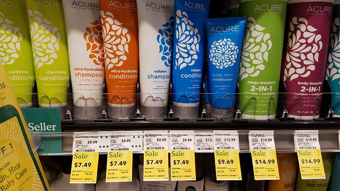 Acure Shampoo, Only $6 49 at Whole Foods! - The Krazy Coupon
