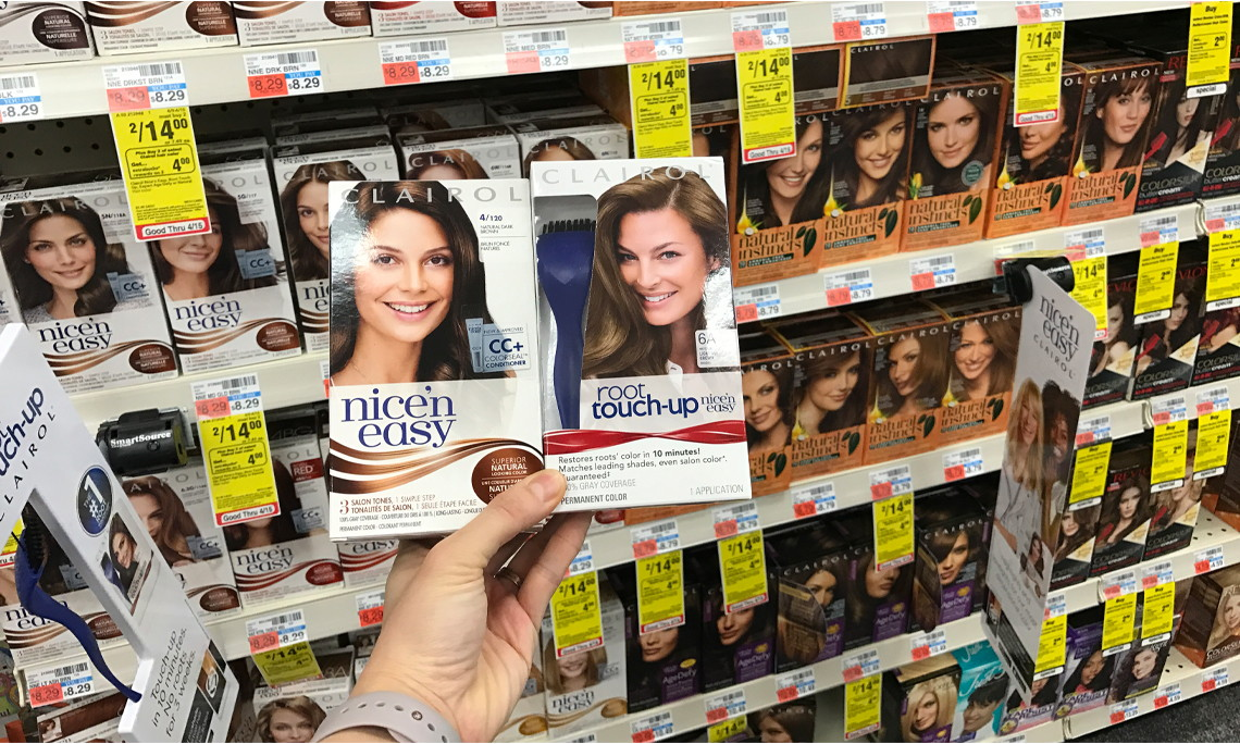 Clairol Nice N Easy Hair Color Only 2 50 At Cvs The Krazy Coupon Lady