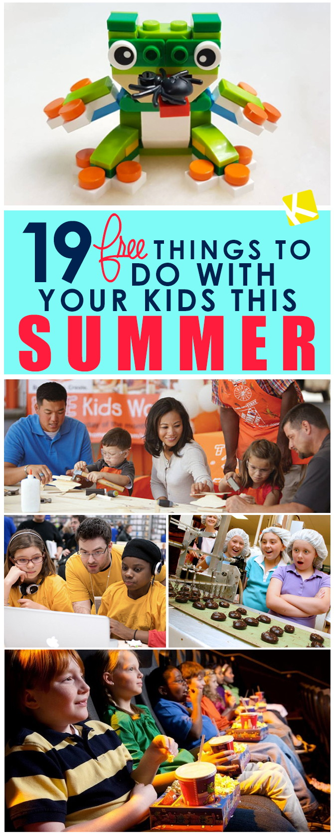 19 Free Things To Do With Your Kids This Summer The